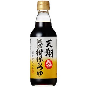 そうめんつゆ 麺つゆ マルテン 天翔 揖保のつゆ 減塩 4倍濃縮 360ml|japangift