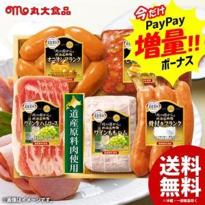 お歳暮 御歳暮 ハム ギフト 詰め合わせ 丸大ハム 丸大食品 北の国から 北海道物語ハムギフトA セット HDS-30 送料無料|japangift