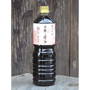 たつ乃屋本店 三年醤油 ペットボトル (大) (1000ml)【のし・包装不可】|japangift