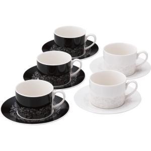 内祝い 内祝 お返し カップ ソーサー セット ニナ リッチ アナ コーヒー碗皿 5客セット NR110‐2 (8)|japangift