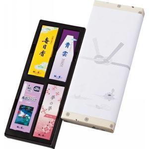 線香 ギフト セット お供え 贈答用 日本香堂 御香セット1000 包装済