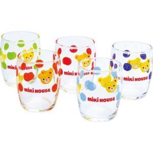 内祝い 内祝 お返し ギフト グラス おしゃれ セット ミキハウス ミニグラスセット 10-8916-672 (24) お歳暮 御歳暮|japangift