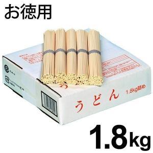 お徳用 うどん 箱詰め 1.8kg 饂飩 乾麺 1800g (k-s) (6) 【のし・包装別途108円】|japangift