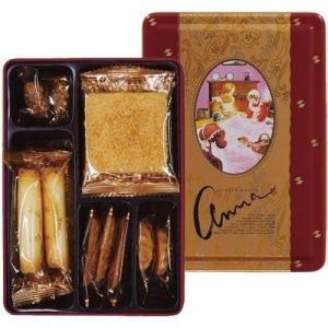 クッキーをアソートしたギフト缶として各種催事や、販促品・粗品・記念品・ノベルティ・お土産・手土産など...