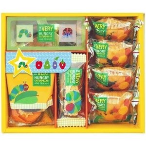 お菓子 スイーツ ギフト 内祝い 内祝 お返し キャラクター はらぺこあおむし グッズ すいーとガーデン スイーツギフト HEC-15 (12)|japangift