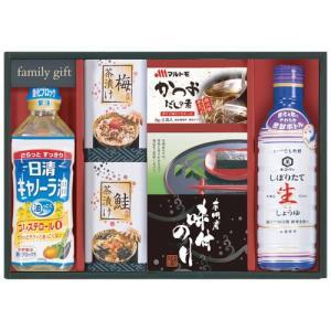 海苔 しょうゆ 調味料 油 ギフト 詰め合わせ 日清 キッコーマン調味料詰合せ 食品 セット NA-25 (12)|japangift