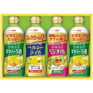 内祝い お返し 日清 ヘルシーオイルギフトセット 油 調味料 詰め合わせ OP-20[6] 父の日ギフト|japangift