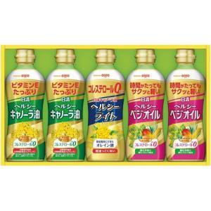 内祝い お返し 日清 ヘルシーオイルギフトセット 油 調味料 詰め合わせ OP-25[5] 父の日ギフト|japangift