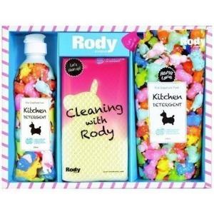 お歳暮 御歳暮 洗剤 ギフト 内祝い 内祝 お返し キャラクター ロディ Rody キッチン洗剤セット R-08Y (24)|japangift