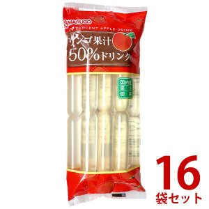 マルゴ食品 国内産果汁使用 リンゴ果汁50%ドリンク 10本入×12袋セット【のし・包装不可】|japangift