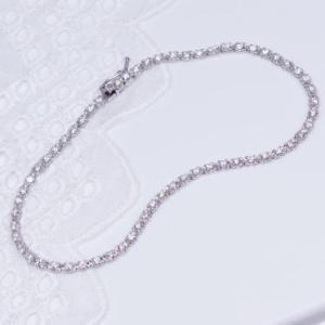 ギフト 特別奉仕品 プラチナ ダイヤテニスブレスレット 計1カラット japangold