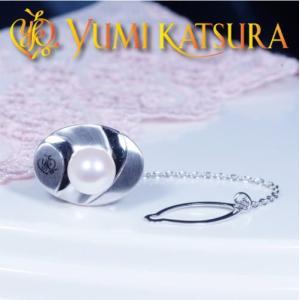 ギフト 期間限定特別奉仕品 YUMI KATSURA ユミカツラ 桂由美 高級大珠あこや真珠タイタック 8.5mm珠|japangold