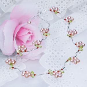 ヒット商品 シルバー淡水真珠デザインネックレス|japangold