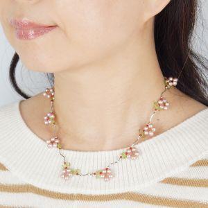 ヒット商品 シルバー淡水真珠デザインネックレス|japangold|05