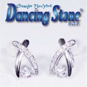 ギフト Crossfor NewYork クロスフォー ニューヨーク Dancing Stone ダンシングストーン  ピアス NYE120 Jupiter  今だけTポイント15倍|japangold
