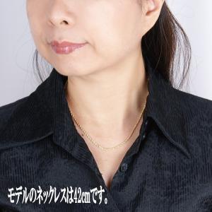 18金イタリー製デザインネックレス(中空ロープ50cm)|japangold|03