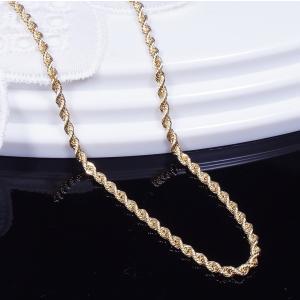 18金イタリー製デザインネックレス(中空ロープ50cm)|japangold|05