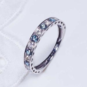 アレキサンドライト ダイヤ デザインリング プラチナ  一文字 稀少宝石 japangold