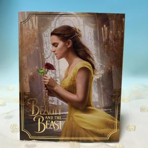 美女と野獣(実写版) Beauty & 未使用ブルーレイのみ Blu-ray Disc only 正...
