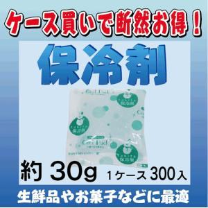 【保冷剤 約30g 1ケース300入】 1袋あたり@4円(税抜)|japanvcs
