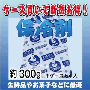 【保冷剤  約300g 1ケース54入】 1袋あたり@35円  (税抜)|japanvcs