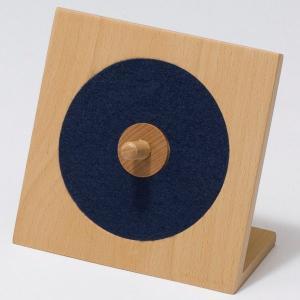 一時的な保管に最適なCDラック!ideaco & muku CDスタンドシングル(ネイビーブルー)|japax-ibaraki