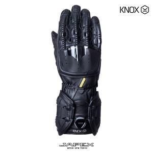 バイク用プロテクショングローブ ノックス ハンドロイド マーク4 ブラック(日本正規代理店) KNOX Handroid Mark4|japex