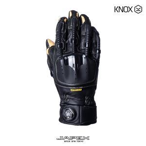 バイク用プロテクショングローブ ノックス ハンドロイド ポッド マーク4 ブラック/サンド(日本正規代理店) KNOX Handroid POD Mark4|japex