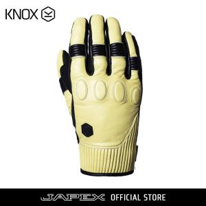 バイク用プロテクショングローブ ノックス ハンブリー ブラック/サンド(日本正規代理店) KNOX Hanbury|japex