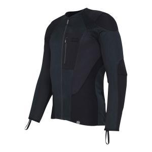 バイク用プロテクター装備ライディングシャツ ノックス アーバンプロ ブラック(日本正規代理店)KNOX Urbane Pro|japex