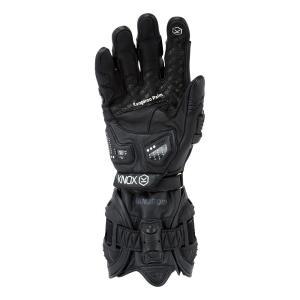 バイク用プロテクショングローブ ノックス ハンドロイド ブラック(日本正規代理店) KNOX Handroid|japex|02