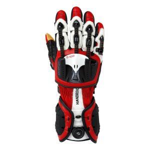 バイク用プロテクショングローブ ノックス ハンドロイド レッド(日本正規代理店) KNOX Handroid|japex