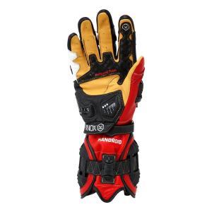 バイク用プロテクショングローブ ノックス ハンドロイド レッド(日本正規代理店) KNOX Handroid|japex|02
