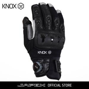 バイク用プロテクショングローブ ノックス オルサ3 ブラック(日本正規代理店) KNOX ORSA OR3|japex