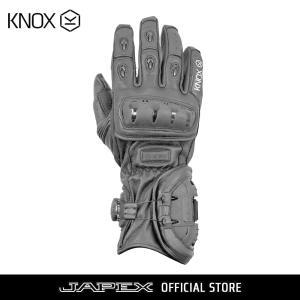 バイク用プロテクショングローブ ノックス ネクソス ブラック(日本正規代理店) KNOX NEXOS|japex