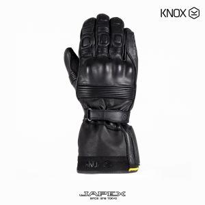 ノックス KNOX バイク用 防水 本革 ツーリング グローブ コバート MK3 / KNOX COVERT MK3 ブラック|japex