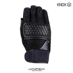 ノックス KNOX バイク用 ライディング グローブ メッシュ アーバンプロ グローブ / KNOX URBANE PRO GLOVE ブラック|japex