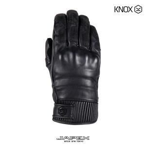 ノックス KNOX バイク用 防水 ツーリング グローブ ハドリー / KNOX hadleigh ブラック|japex