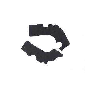 VIBRAM FramePads HONDA2 BLACK / ビブラム フレームパッド ホンダ2 ブラック|japex