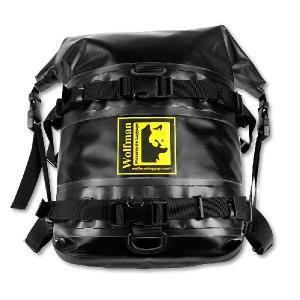 オフロード専用防水バッグ ウルフマン エクスペディション ドライ サドルバッグ ブラック(日本正規代理店) WOLFMAN Expedition Dry Saddle Bags|japex