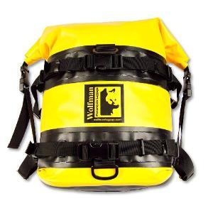 オフロード専用防水バッグ ウルフマン エクスペディション ドライ サドルバッグ イエロー(日本正規代理店) WOLFMAN Expedition Dry Saddle Bags|japex