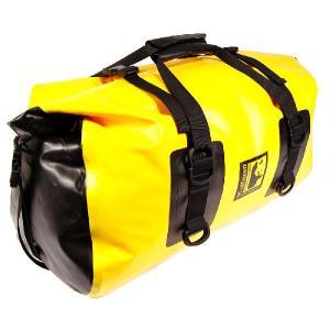 オフロード専用防水バッグ ウルフマン エクスペディション ドライダッフル ラージ イエロー(日本正規代理店) WOLFMAN Expedition Dry Duffle Large|japex