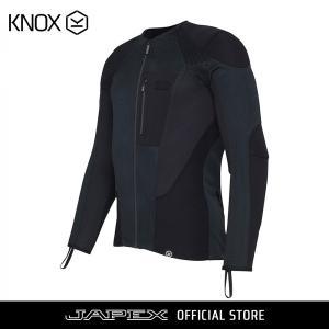 ノックス KNOX バイク用 シャツ感覚で着れるプロテクター ツーリング スポーツライディング用 耐摩耗 メンズ アーバンプロ/ URBANE PRO ブラック japex