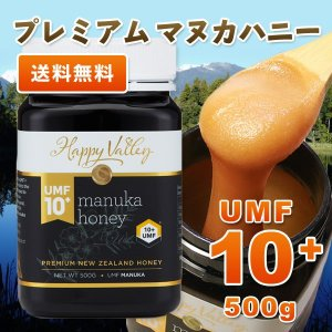 プレミアム マヌカハニー UMF10+ 500g ニュージーランド産 はちみつ 蜂蜜 honey 送料無料|jarrah