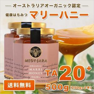マリーハニー TA 20+ 250g×2本セット 500g マヌカハニーと同様の健康活性力 オーストラリア・オーガニック認定 はちみつ 蜂蜜 送料無料|jarrah