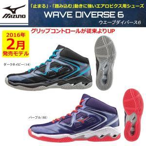 MIZUNO ウエーブダイバース6(WAVE DIVERSE 6)スタジオエクササイズ エアロビクス 男女兼用 K1GF1672