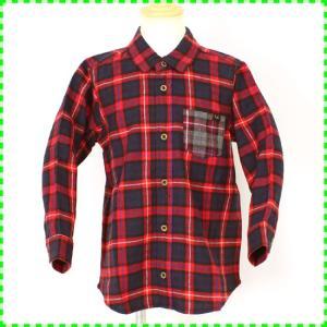 ハウディドゥーディーズ HOWDY DOODY'S ネルの暖かチェックシャツです。前は全てボタンです...