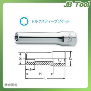 """コーケン ko-ken 1/4""""(6.35mm) トルクスディープソケット2325-E10"""