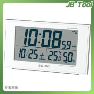 セイコー 温度湿度快適度表示電波時計 SQ758Wの商品画像