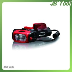 ジェントス GENTOS LEDヘッドライト ガンビット 77TTR GB-77TTR